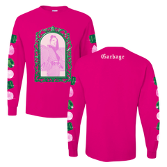 Pink Gem Stone Long Sleeve