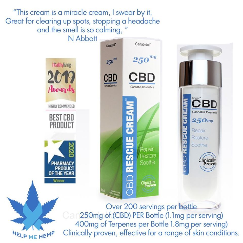CBD Rescue cream - Product review