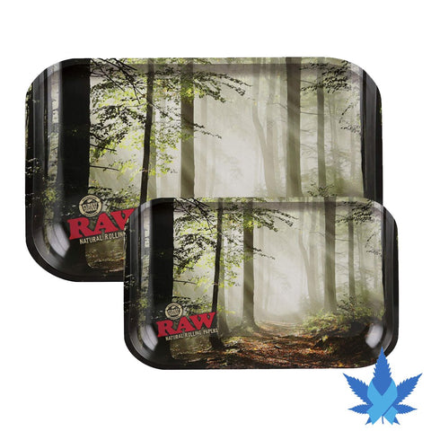 raw rolling tray forest picture