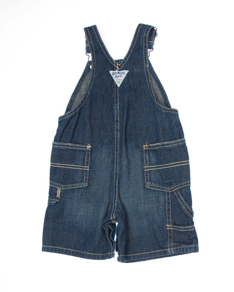 2T Boys Overall Shorts