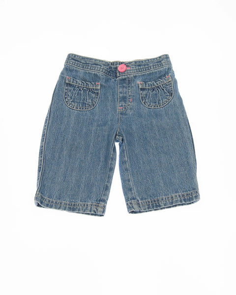 2T Girls Denim Shorts
