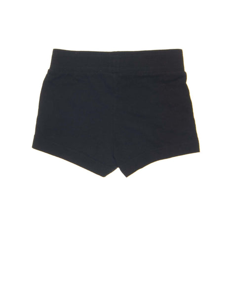5 T Girls Old Navy Shorts Cotton sweat shorts with wide elastic waistband and decorative drawstring on front.