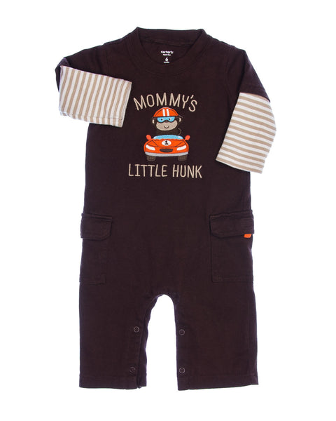 6 Months Boys Coveralls
