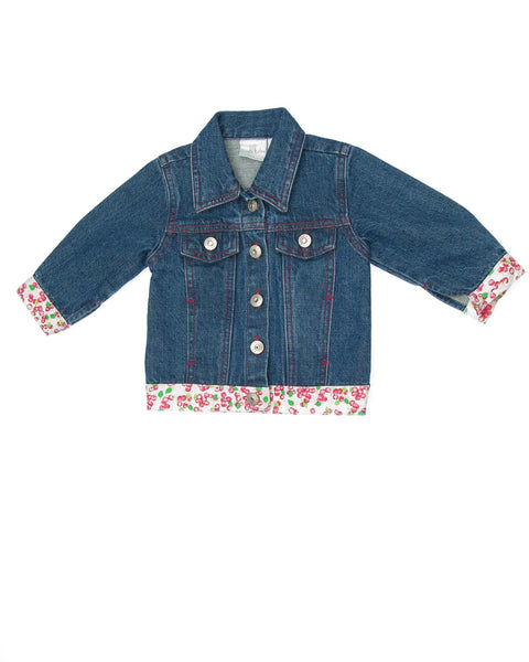 6-9 Months Girls Denim Jacket