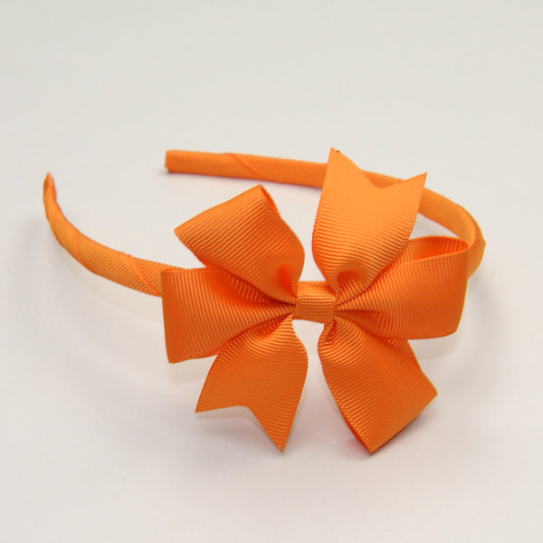 Grosgrain Bow Hair Bands