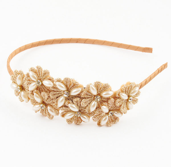 Flower Cluster Hairbands