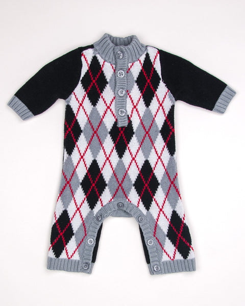 0-3 Months Boys Coverall