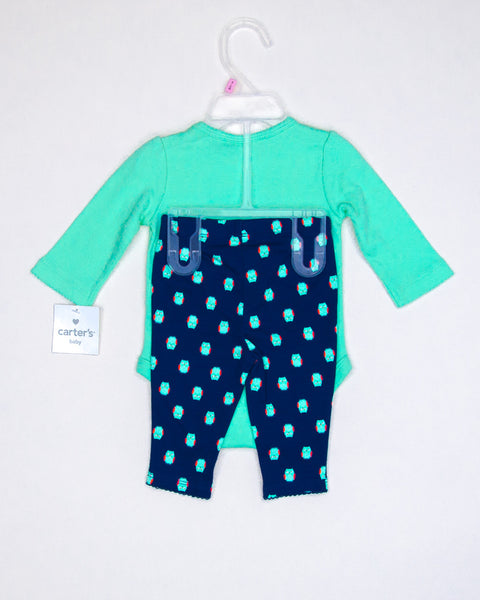 Kidz Outfitters 0-3 Months Outfit by Carter's  - KidzOutfitters.com Item #:  A1202569 - Back