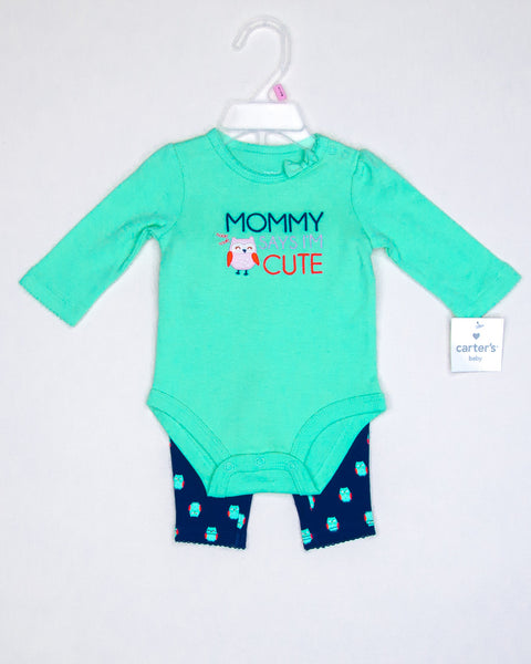 Kidz Outfitters 0-3 Months Outfit by Carter's  - KidzOutfitters.com Item #:  A1202569 - Front
