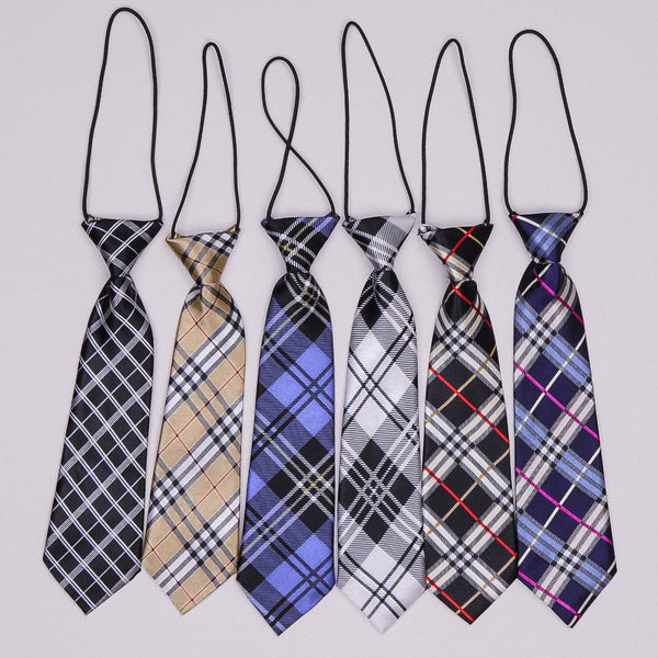 Kidz Outfitters 10.5 Inches Plaid Necktie by Kidz Outffiters - KidzOutfitters.com Item  C1200038