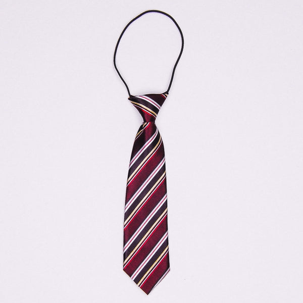 Wide Striped Necktie