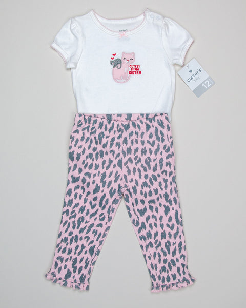 12 Months Girls Outfit