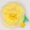 Kidz Outfitters 2.5 Inches Flower Hair Clips by Kidz Outffiters - KidzOutfitters.com Item  C1200004 Yellow