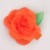 Kidz Outfitters 2.5 Inches Flower Hair Clips by Kidz Outffiters - KidzOutfitters.com Item  C1200004 Orange
