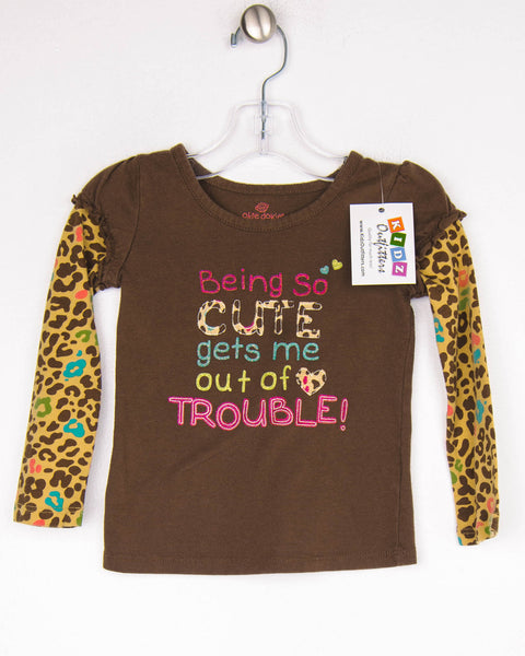 2T Girls Top by Okie Dokie