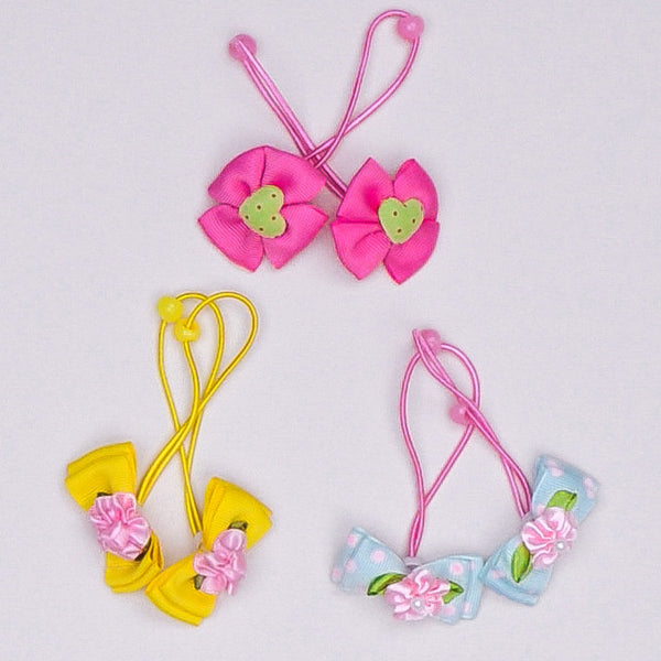 Grosgrain Bow Hair Ties