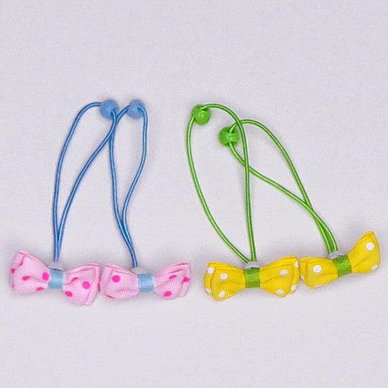 Kidz Outfitters 2 Inches Grosgrain Bows Hair Tie by Kidz Outffiters - KidzOutfitters.com Item  C1200026 All 2