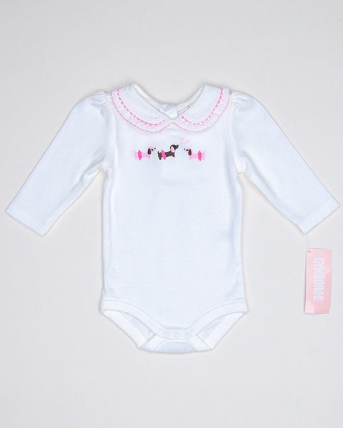 Kidz Outfitters 3-6 Months Girls Bodysuit by Gymboree - www.kidzoutfitters.co Item A1202815