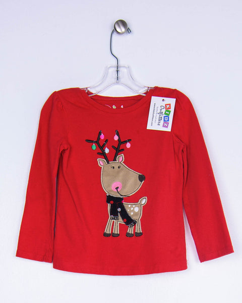 4T Girls Tops, Long Sleeves by Jumping Beans