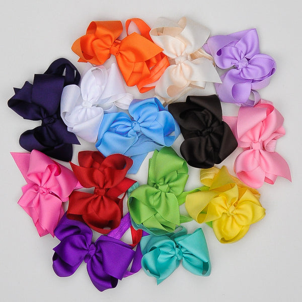 Boutique Grosgrain Bow Headbands