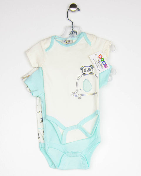 Kidz Outfitters 6-9 Months Set of 3 Bodysuits by Chick Pea - KidzOutfitters.com Item A1608127