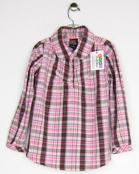 6 Years Girls Top, Long Sleeves by Paper Denim & Cloth