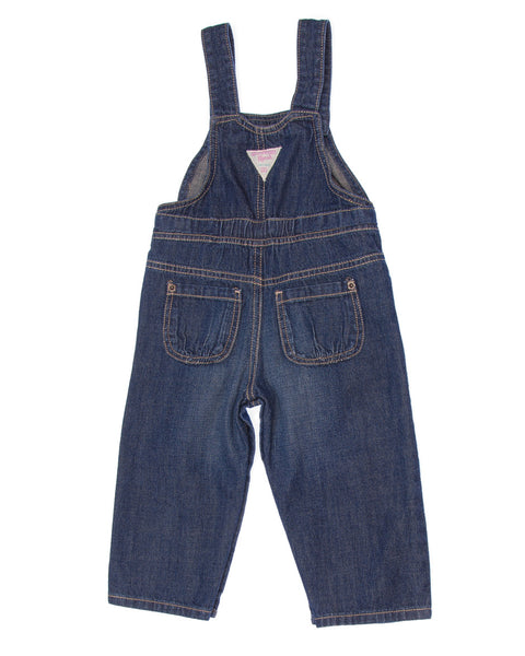 Kidz Outfitters 9 Months Girls Overall Pants by OshKosh B'Gosh  - KidzOutfitters.com Item A1202765 Back