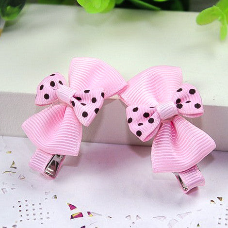 Double-Bow Hair Clips