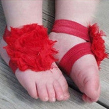 Kidz Outfitters Flower Baby Sandals by Kidz Outffiters - KidzOutfitters.com Item  C1200015 Red
