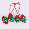 Kidz Outfitters Layered Grosgrain Bows Hair Ties by Kidz Outffiters - KidzOutfitters.com Item  C1200025 Christmas