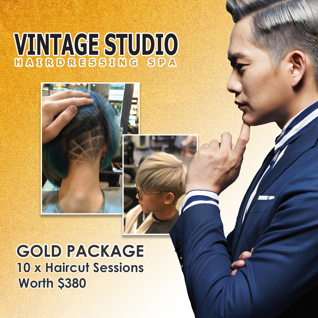 Haircut Gold Package