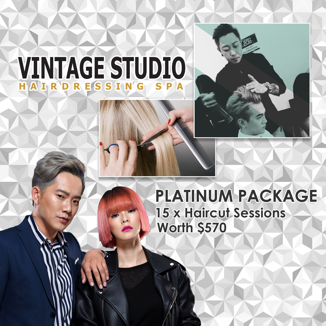 Haircut Platinum Package