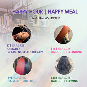 Haircut + Treatment/Scalp Therapy Services