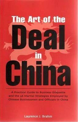 The Art Of The Deal In China,Non Fiction,Books