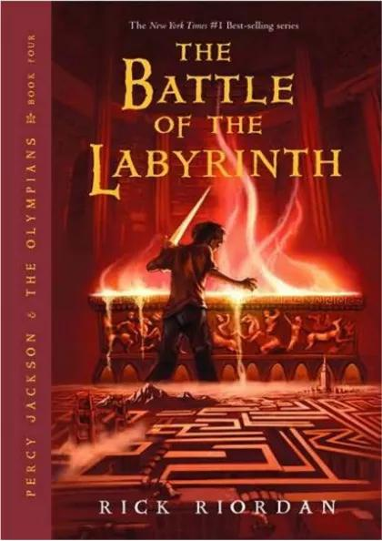 The Battle of the Labyrinth,Teens,Books