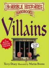 Load image into Gallery viewer, Horrible Histories Handbook: Villains