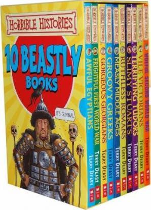 Horrible Histories 10 Beastly Books