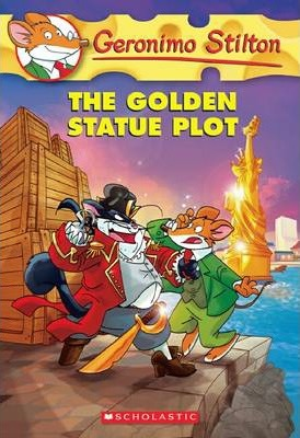 Geronimo Stilton: The Golden Statue Plot #55