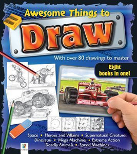 Awesome Things Draw Bind-Up