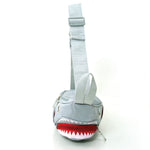 grey shark fanny pack