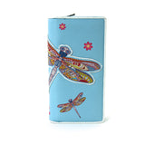 Dragonfly Wallet in Vinyl Material front view