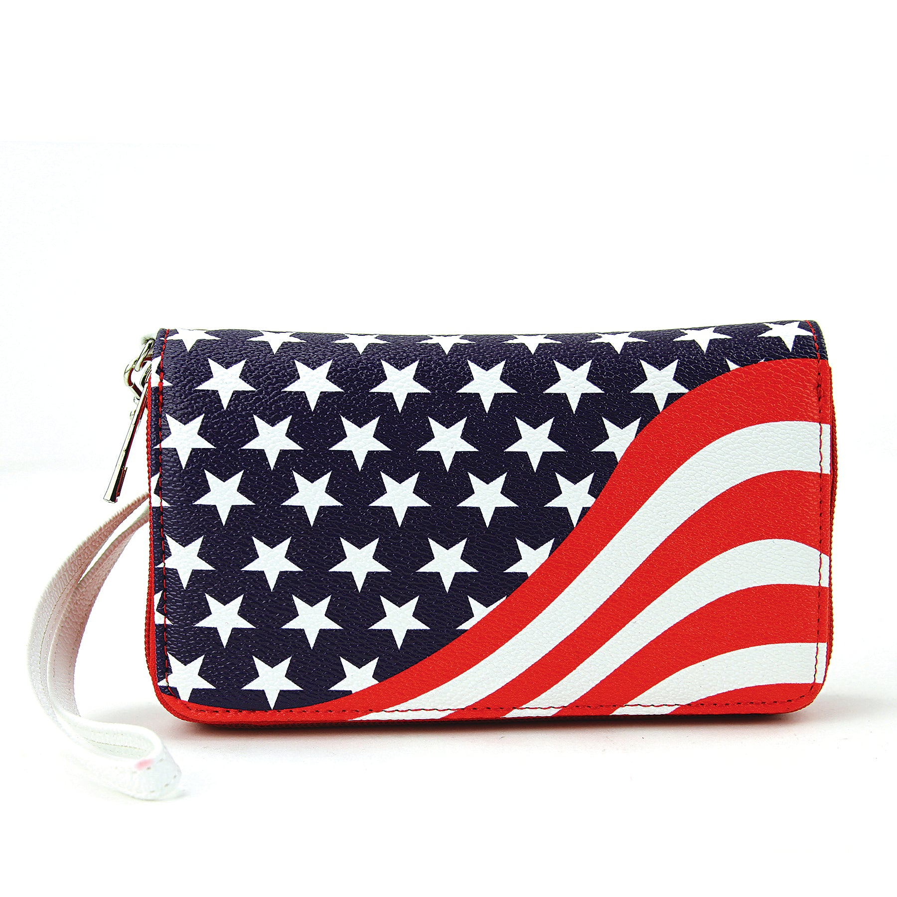 Americana Wallet in Vinyl front view