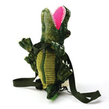 Sleepyville Critters - Alligator Mini Backpack, front view
