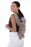 Sleepyville Critters - Sloth Mini Backpack, backpack style on model