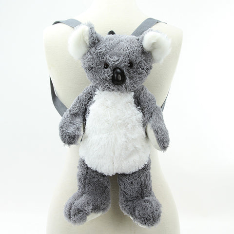Furry Koala Bear in Polyester