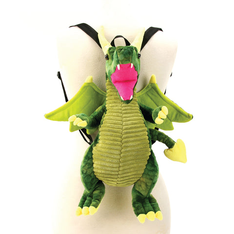 Sleepyville Critters - Dragon Mini Backpack front view