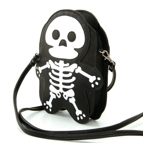 Premium Vinyl Skeleton Should Bag in Vinyl Material front view