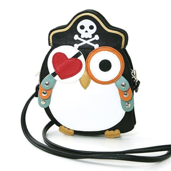 Sleepyville Criters-Pirate Owl In Vinyl front view