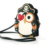 Sleepyville Criters-Pirate Owl In Vinyl side view