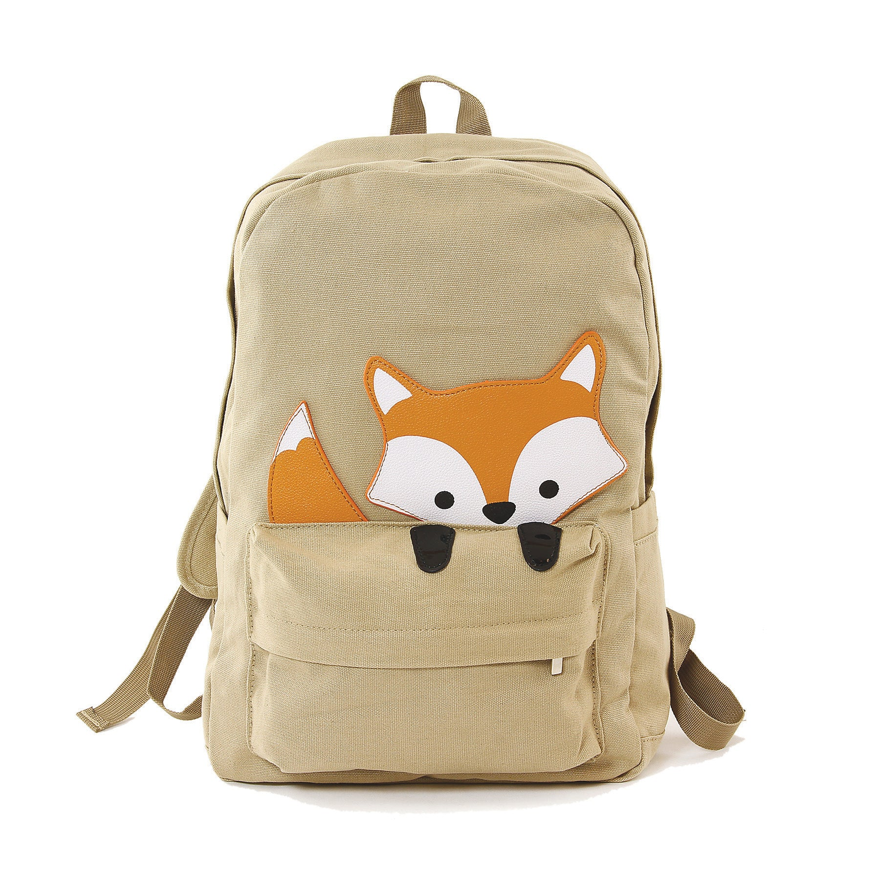 Canvas Fox Backpack Frontal view
